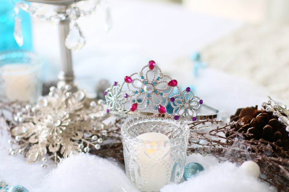 Tiaras for a FROZEN Princess party for rent! @inJOYtheParty