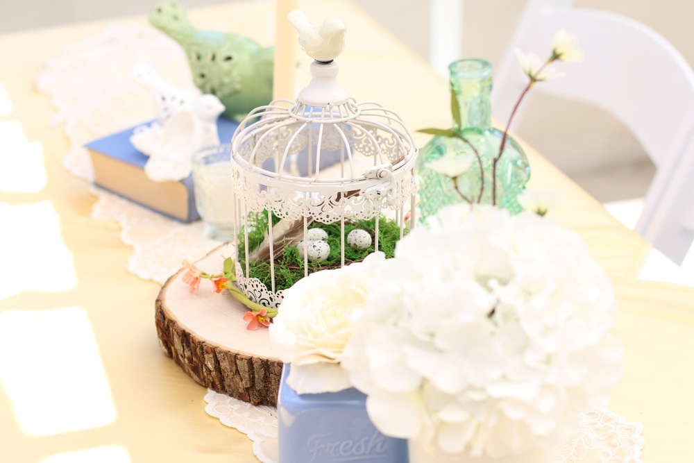 Copy of A Vintage Bird Themed Baby Shower - Ready to Rent from @inJOYtheParty!