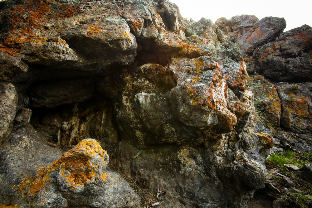 Rock formation on Observation Point trail