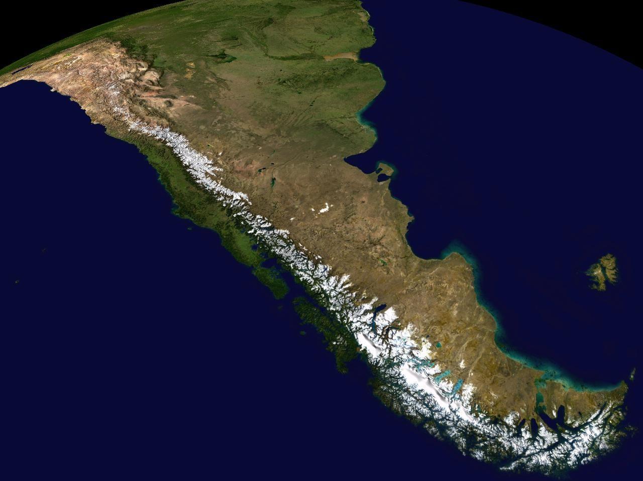 Andes - Public Domain