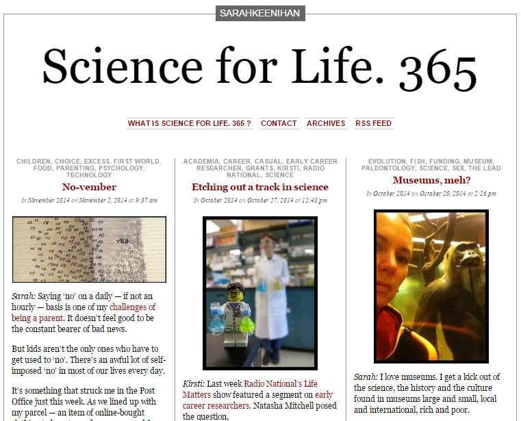 ScienceForLife
