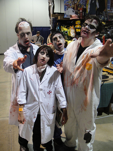 Zombie Scientists by Pop Culture Geek, Flickr.com