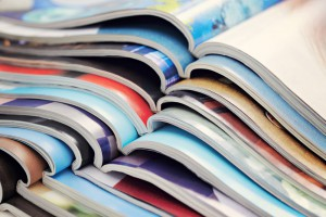 Shutterstock: http://www.shutterstock.com/pic-121514233/stock-photo-pile-of-magazines-colorful.html?src=luSGj_f_YJXlSF0fDdV8KQ-1-3