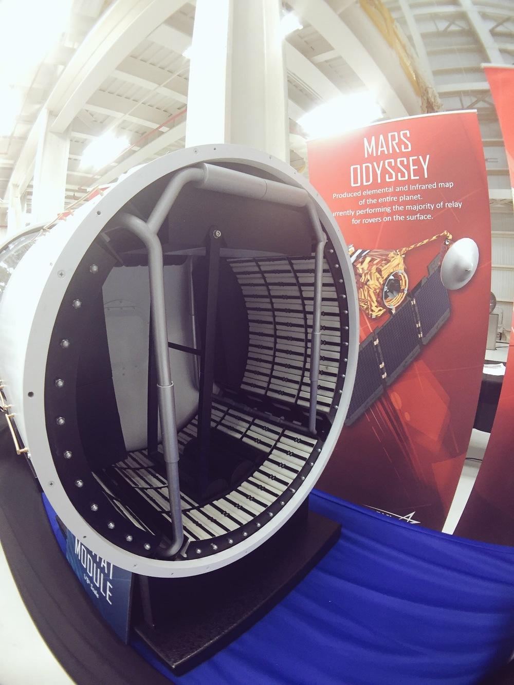 Habitable Unit for Orion