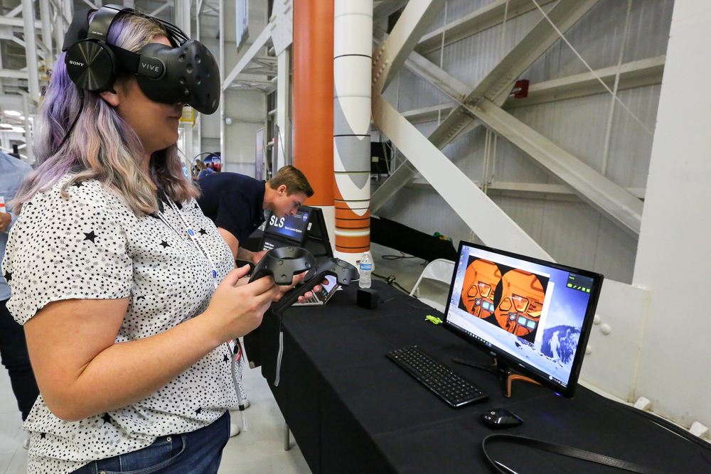 Martian Simulation.This realistic simulation game using Mars imagery and tomography will be used to train astronauts for Mars:http://mars2030-vr.com.