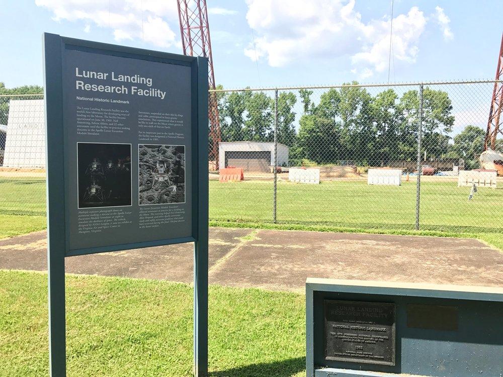 A National Historic Landmark for Apollo landing testing