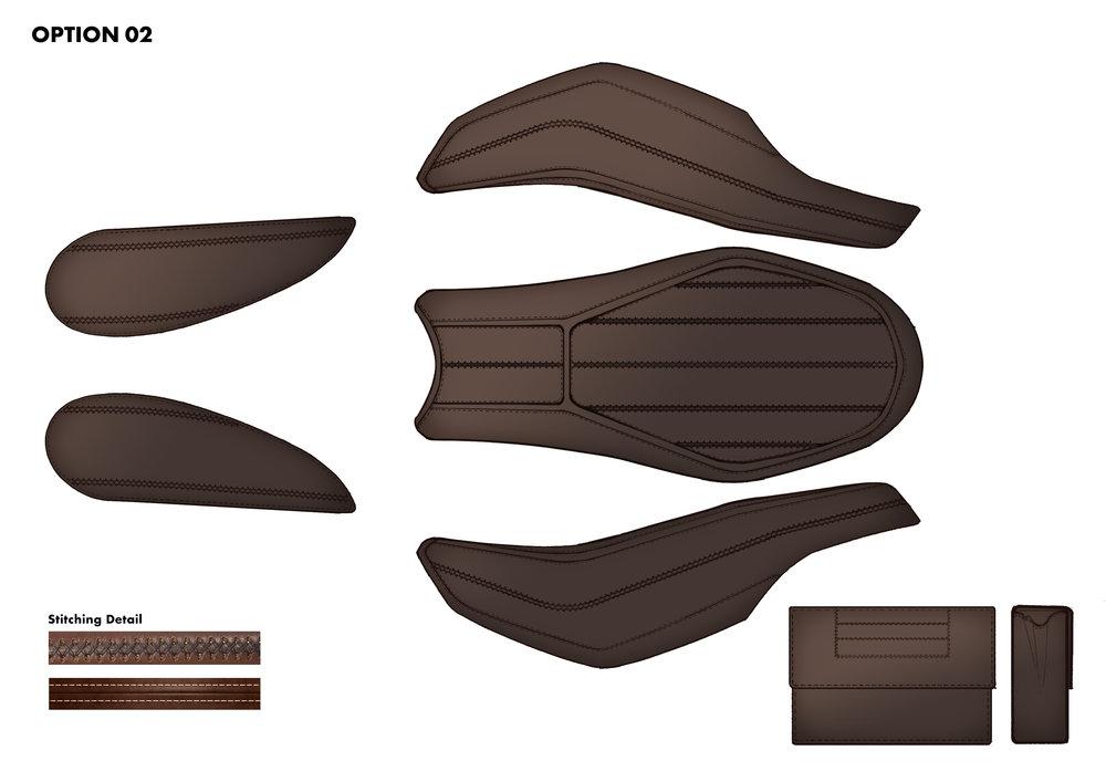 LEATHER parts design