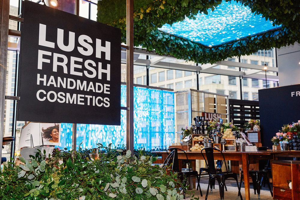 TED x Lush Cosmetics, 2016. Photo credit: Lush Cosmetics