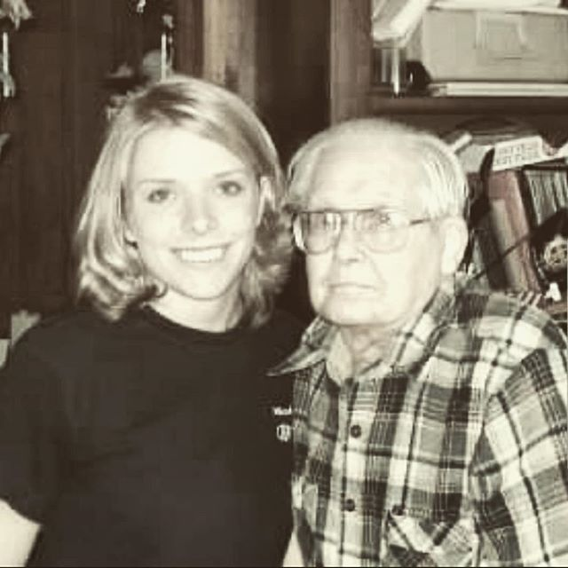 """I wasn't going to do the """"HOW HARD DID AGING HIT YOU"""" CHALLENGE  but when I looked at my first profile pic, I had to. I will never miss an opportunity to share a photo of my Grandfather.  This photo was taken in 2009. We lost him in 2010. I miss his hugs every single day. When I would walk in the door he would hit me with the hardest hug imaginable. He was possibly the most genuine human on the planet.  #howharddidaginghityouchallenge #pawpaw"""