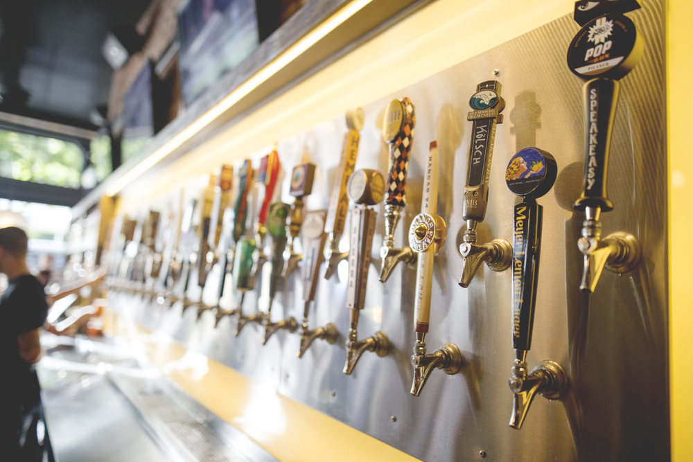 Eureka!'s craft beer lineup