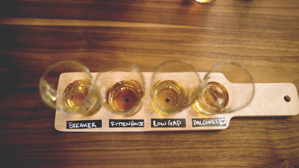 Eureka!'s Whiskey Flight
