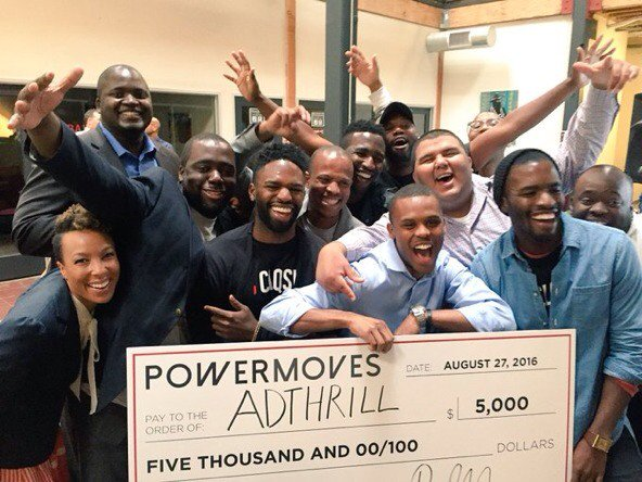 AdThrill won $5,000 for the Demo Day Pitch.