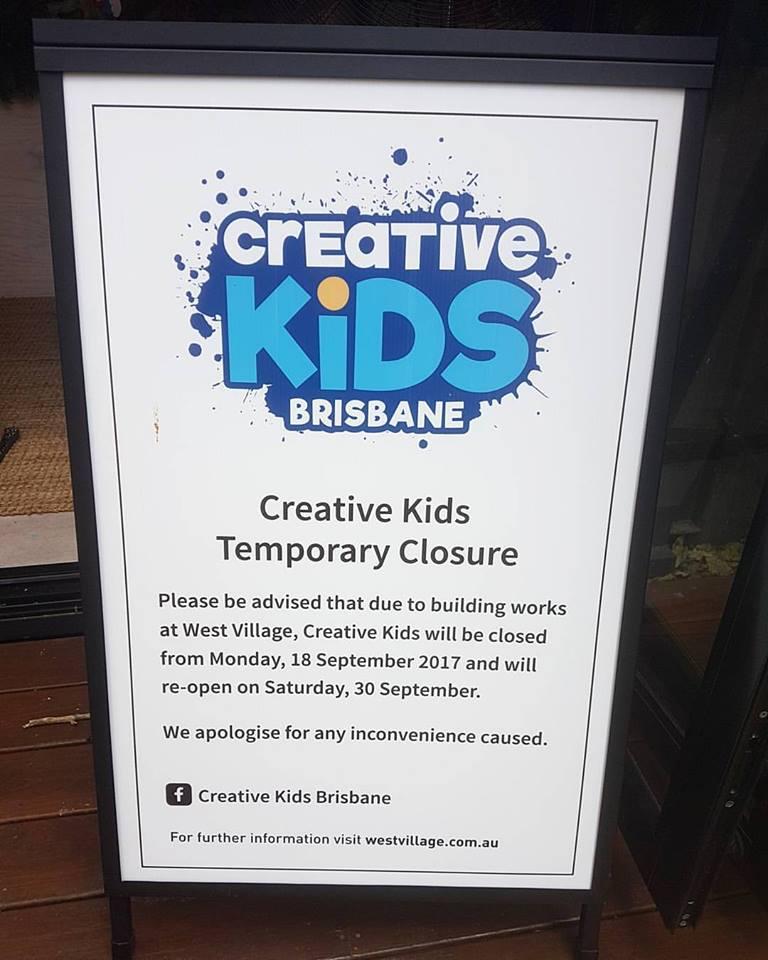 Free Children's art in West End, Brisbane