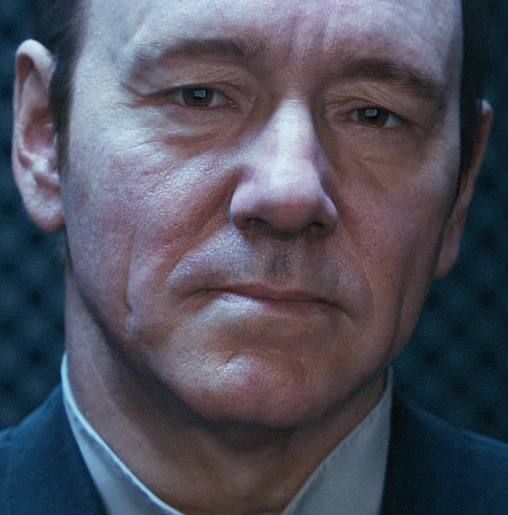 Academy Award winner Kevin Spacey explores performance capture in CALL OF DUTY: ADVANCED WARFARE, driving the most advanced digital avatar in interactive. All computer generated faces were directed by Remington Scott.