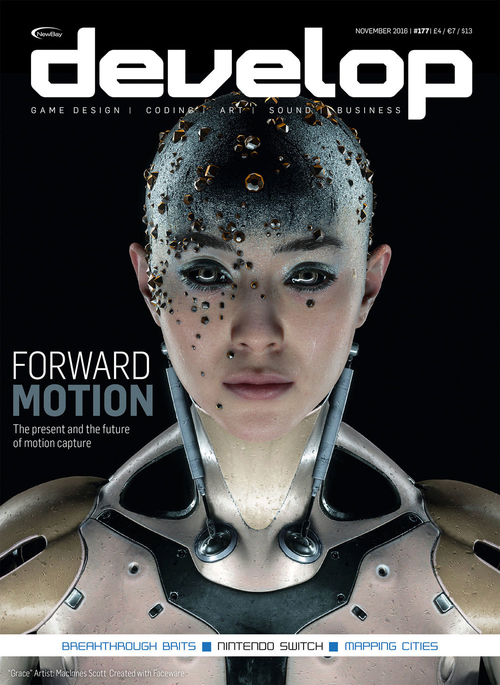Grace VR Future of Motion Capture Develop Magazine