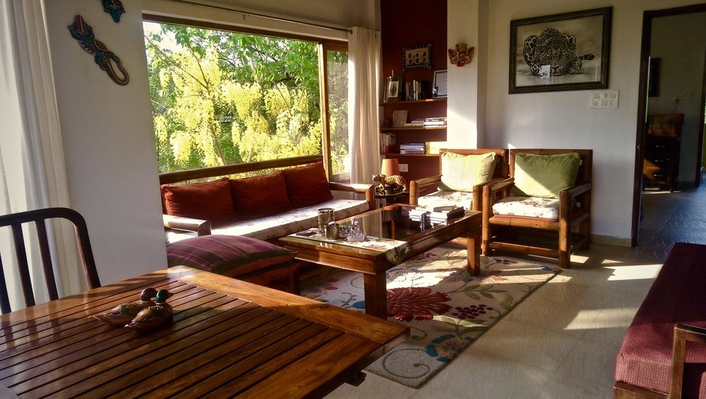 ... And Aesthetic Interiors Of The Villa, With The Feel Of The Ethereal  Chital Walking Past The Window Barely A Stretch Away. The 4 Bedrooms Of The  Villa ...