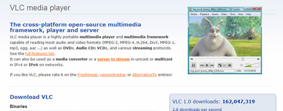 Descarga VLC Media Player