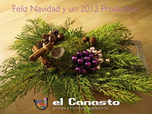 Feliz Navidad y un 2012 Productivo