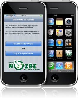 Nozbe para el iPhone