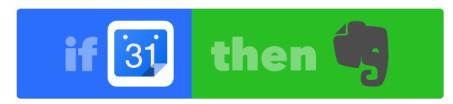 Recete de IFTTT para pasar citas a Evernote