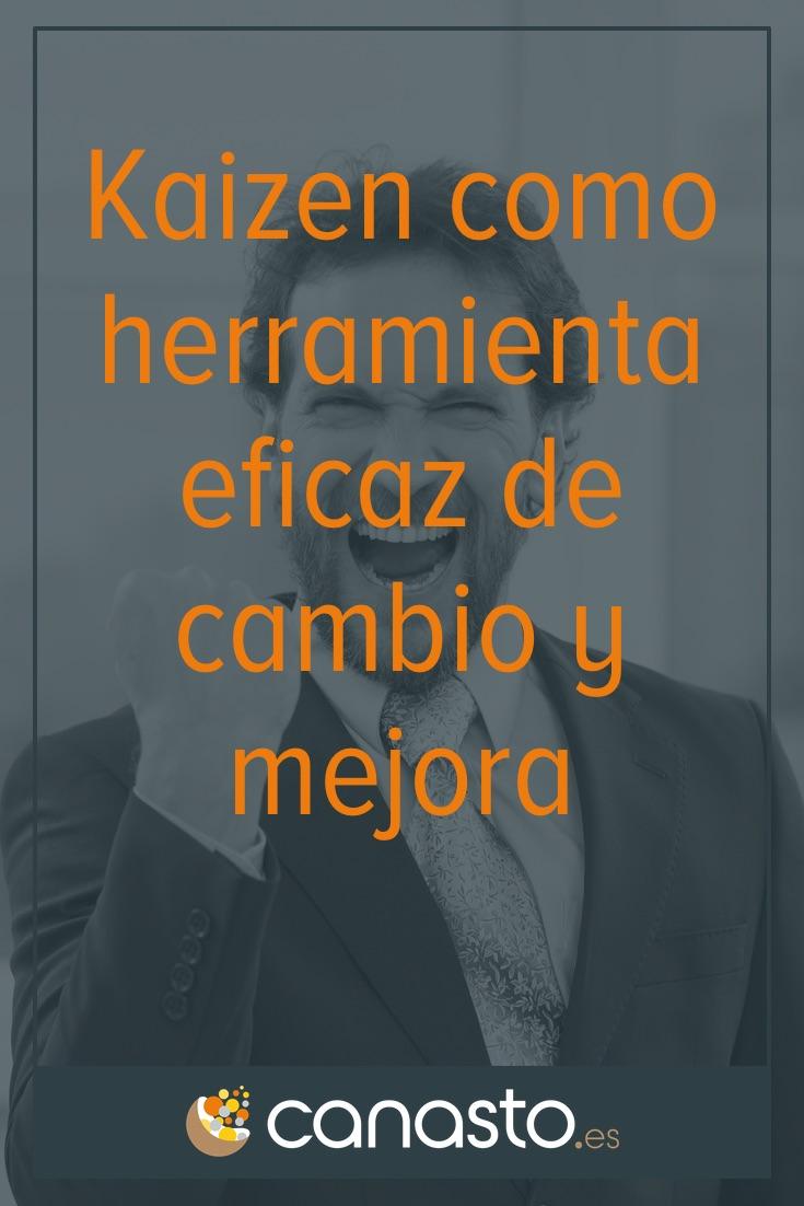 Kaizen como herramienta eficaz de cambio y mejora