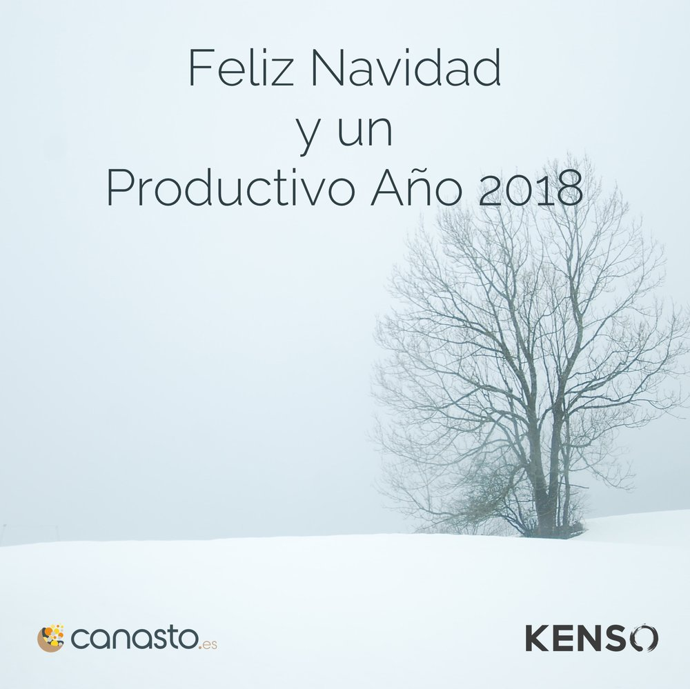 Feliz Navidad y un Productivo Año 2018