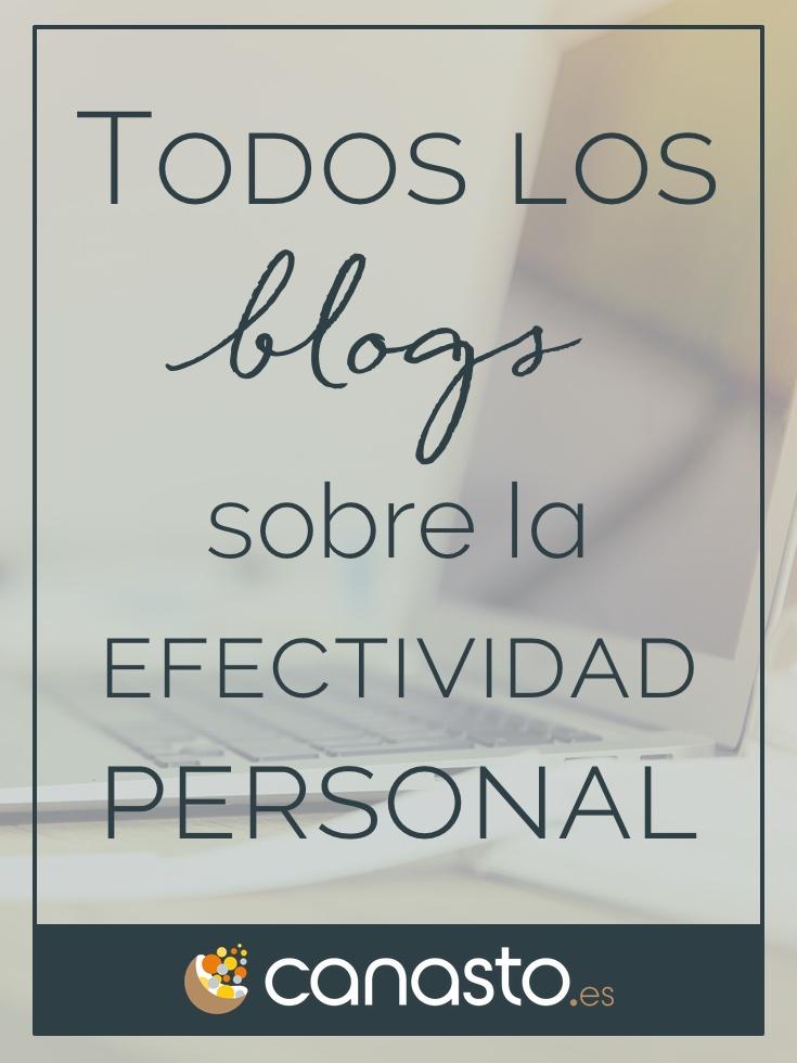 La gran lista de blogs y podcasts en español sobre la productividad personal y la gestión del tiempo