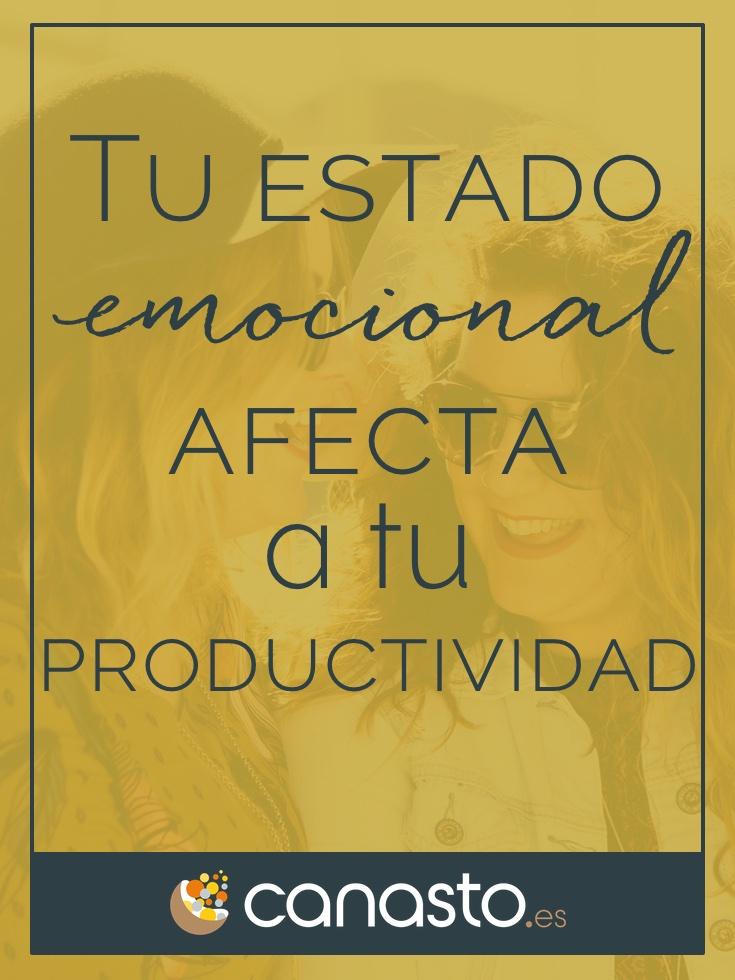 Tu estado emocional afecta a tu productividad