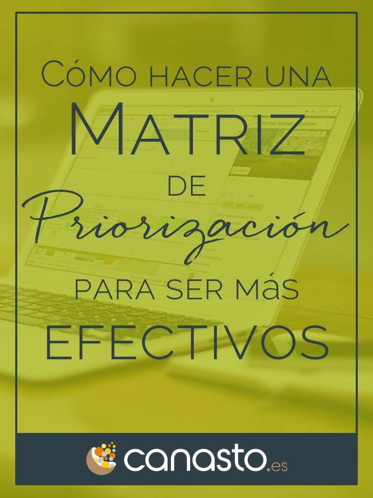 ¿Cómo hacer una Matriz de Priorización para ser más efectivos?