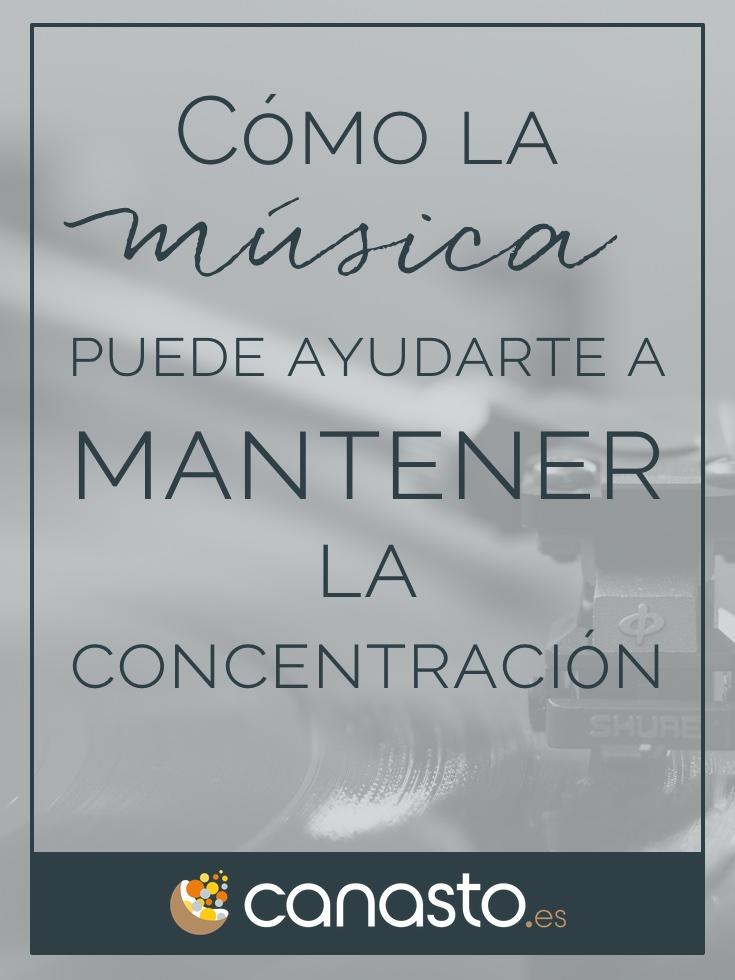 Cómo la música puede ayudarte a mantener la concentración