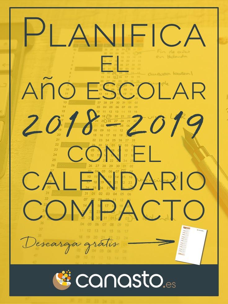 Planifica el año escolar 2018–2019 con el Calendario Compacto