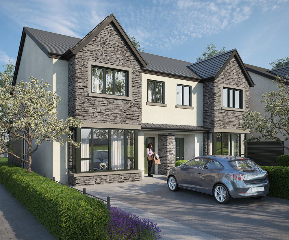 The View at Glenheron - Exceptional family homes in a desirable location. The View at Glenheron is an exclusive new development of two, three and four-bed high-quality detached, semi-detached and terraced family homes.