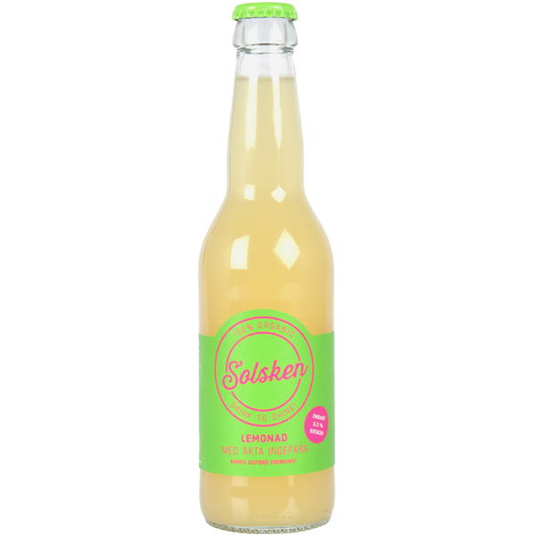 LEMON & GINGER LEMONADE - Ingredients: Water, organic lemon juice, organic cane sugar, organic ginger.