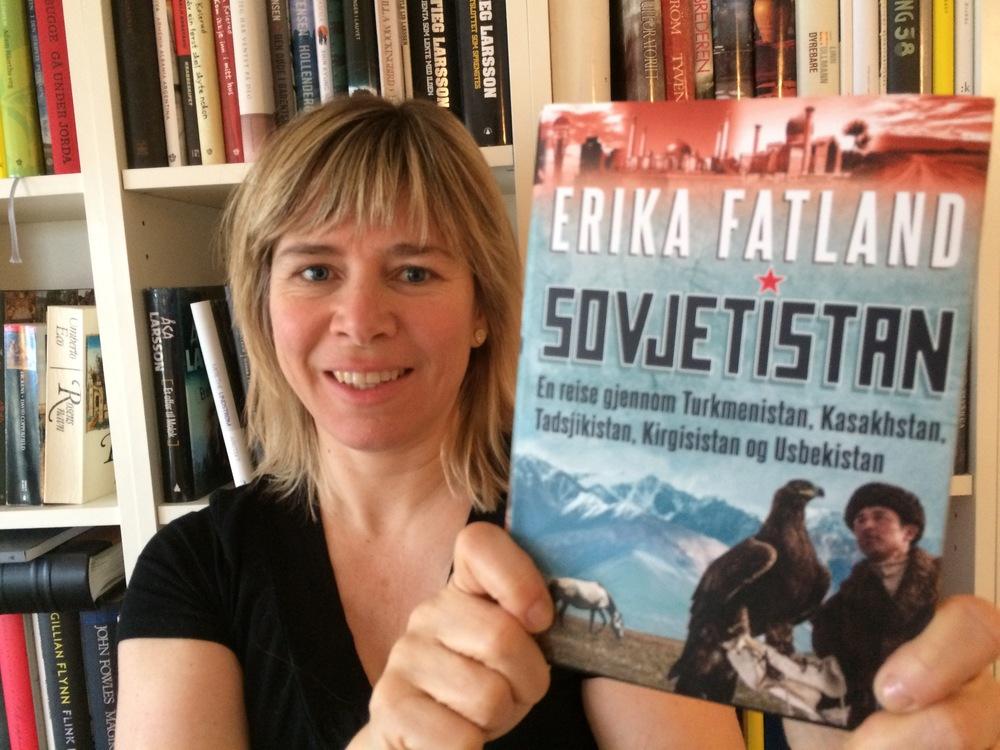 Frilansjournalist og kunstnerisk rådgiver Synnøve Haga anbefaler Sovjetistan av Erica Fatland.