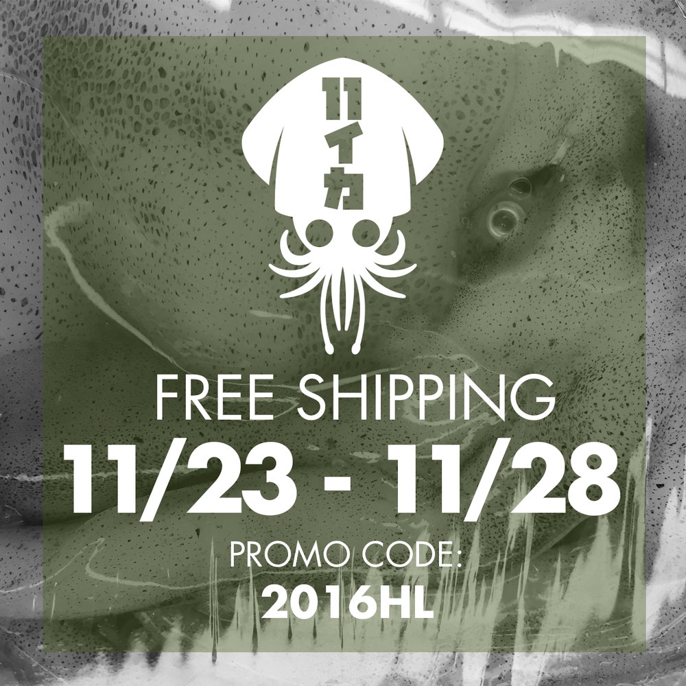 Holiday Promo: Free Shipping