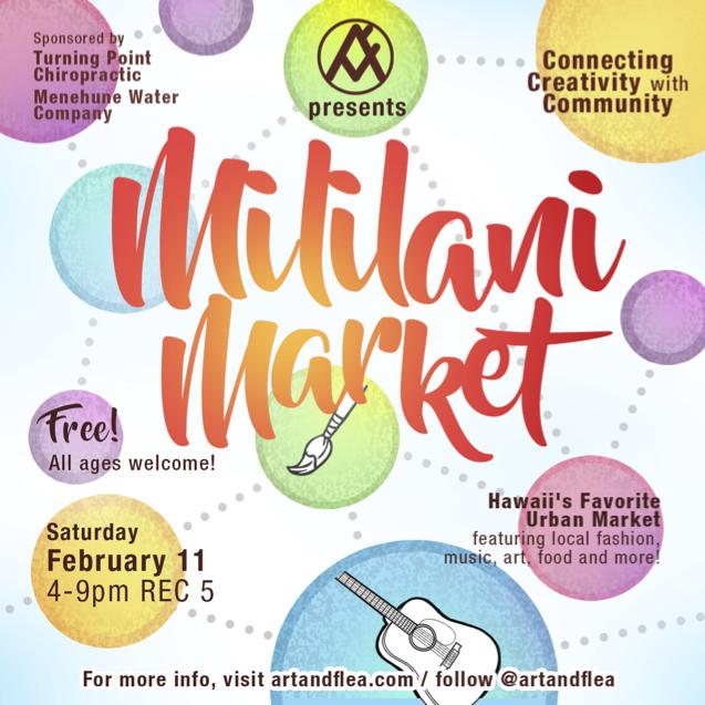 ArtFleaMililaniMarket