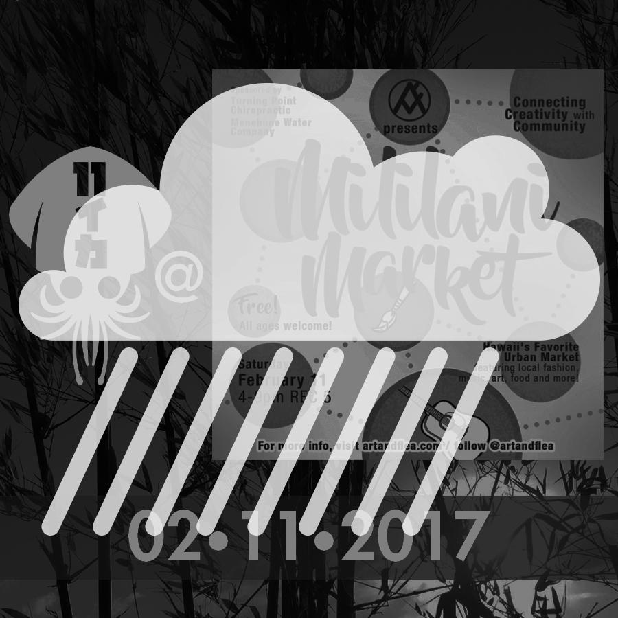 Art+Flea Mililani Market Cancelled