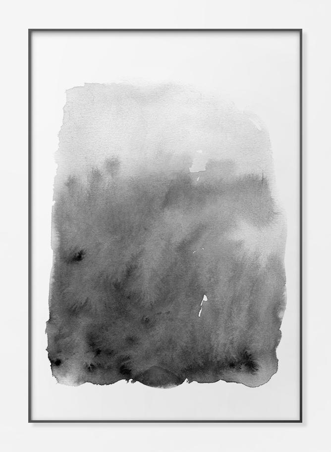 Watercolour Black - FPPLC0046