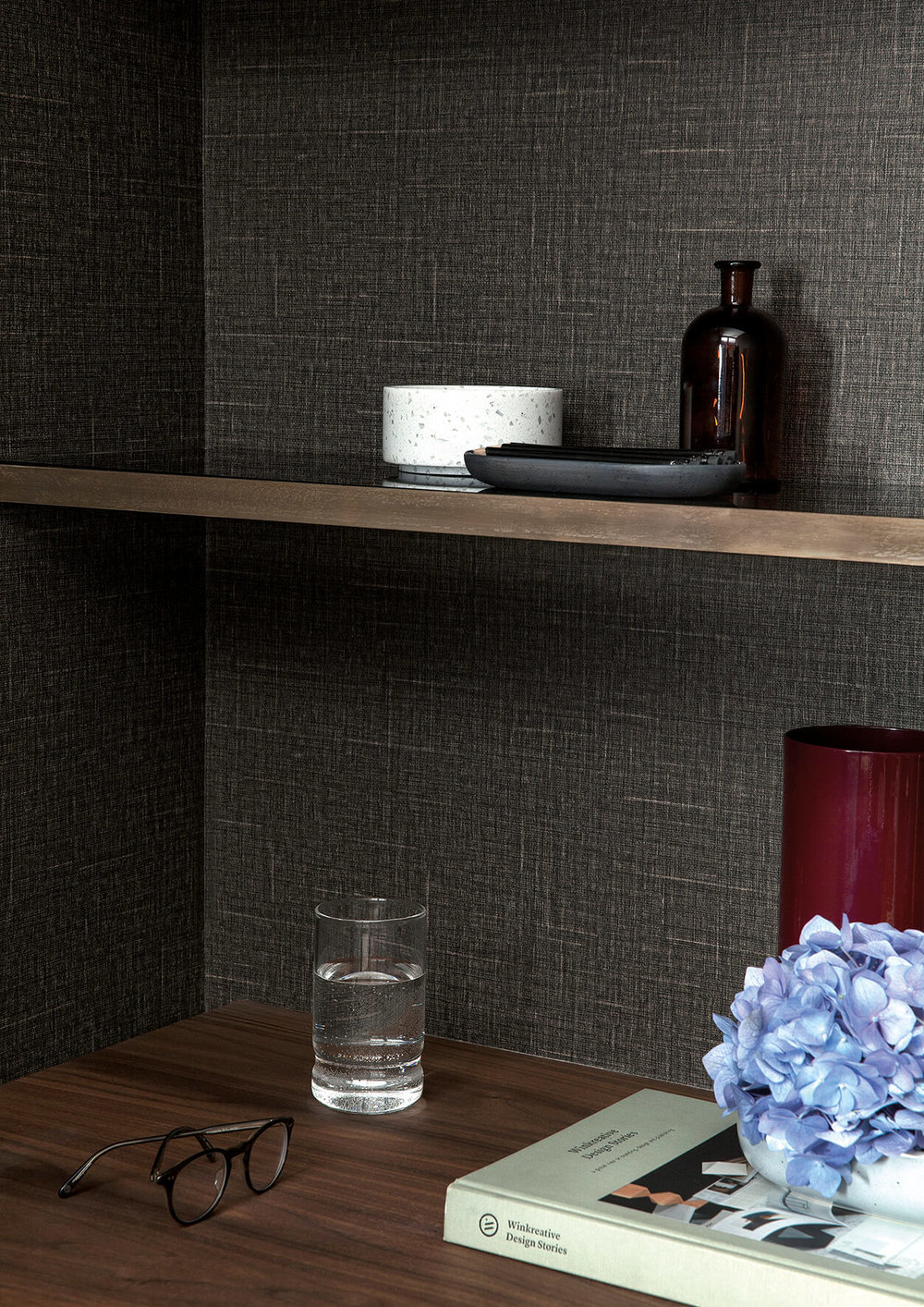 Japanese Linen Wallpaper - View 6 styles