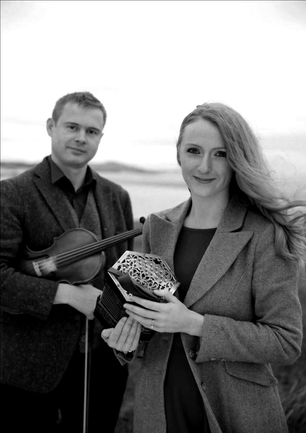 Ciarán Ó Maonaigh &Caitlin NicGhabhann