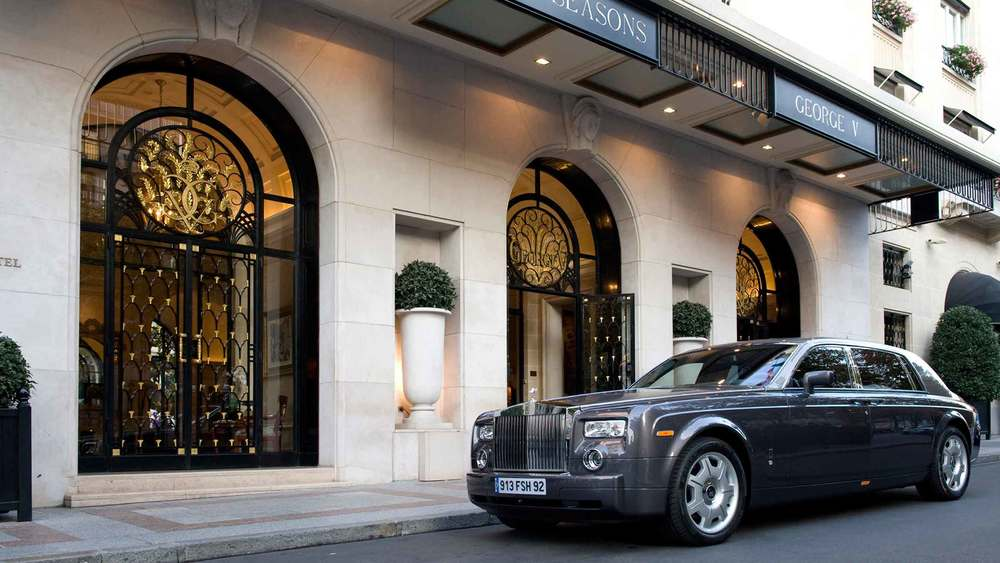 The hotels Hermes inspired Phantom Bentley