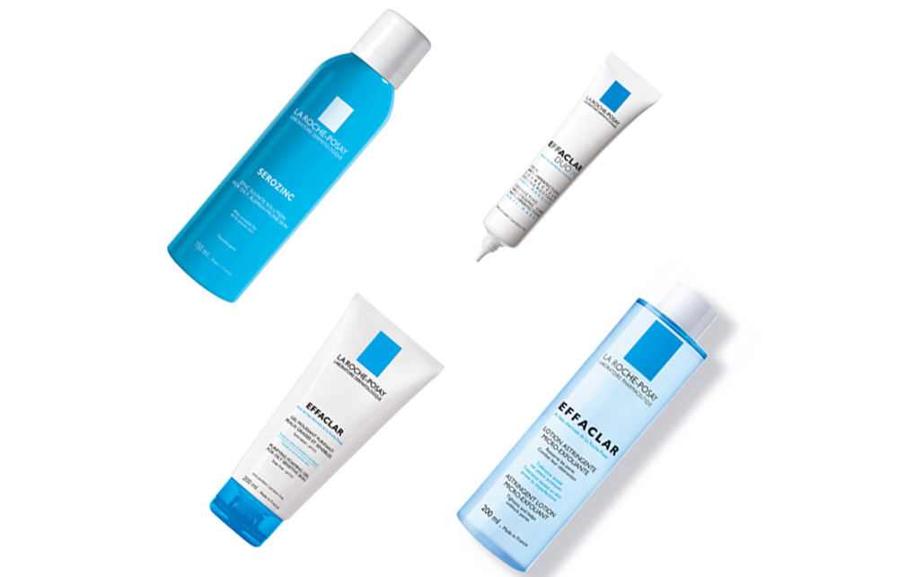 La Roche-Posay    La Roche-Posay products are all about treating specific skincare needs.  Their Effaclar range is recommended by dermatologists and their thermal water has become known as 'healing water'. The range has incredible results for conditions such as exzema, dermatitis and psoriasis. This range also has products to  target wrinkles and plump up the skin (  u  sing key ingredients such as retinol and LHAs ) so it 's perfect for getting that youthful french girl look on.