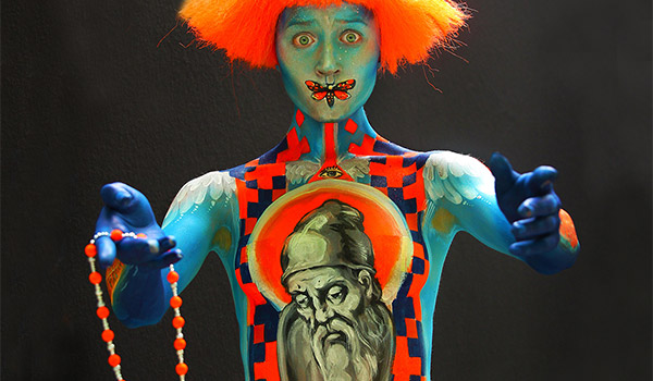 AUSTRIA - BODY PAINTING FESTIVAL