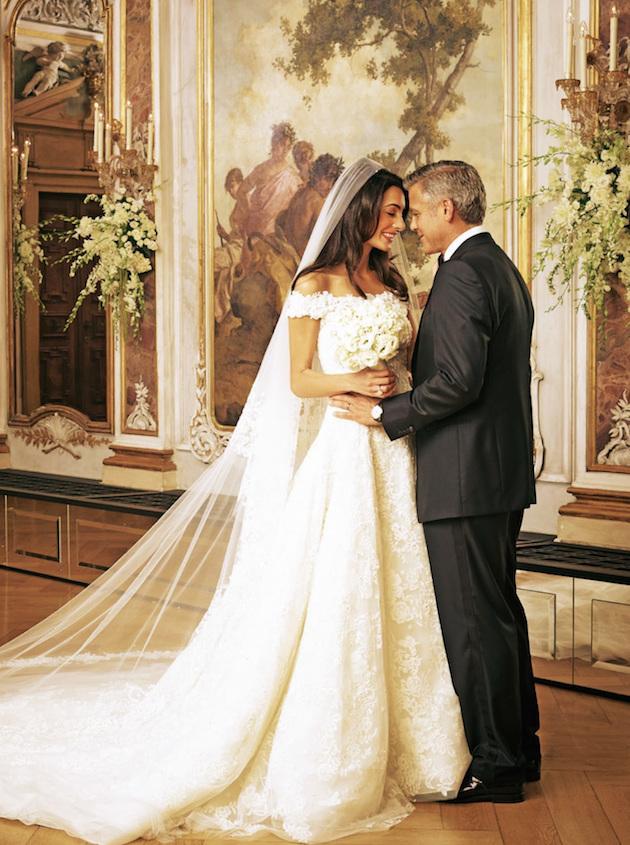 Mr & Mrs Clooney