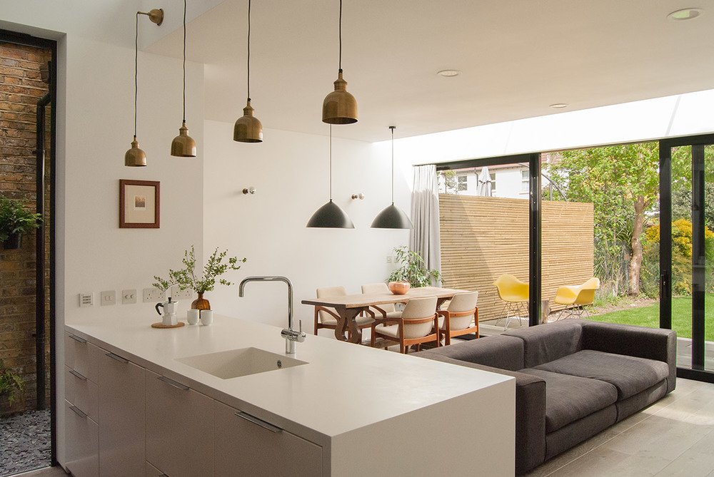 HOUSE EXTENSION NORTH LONDON Flik Design Architectural Services
