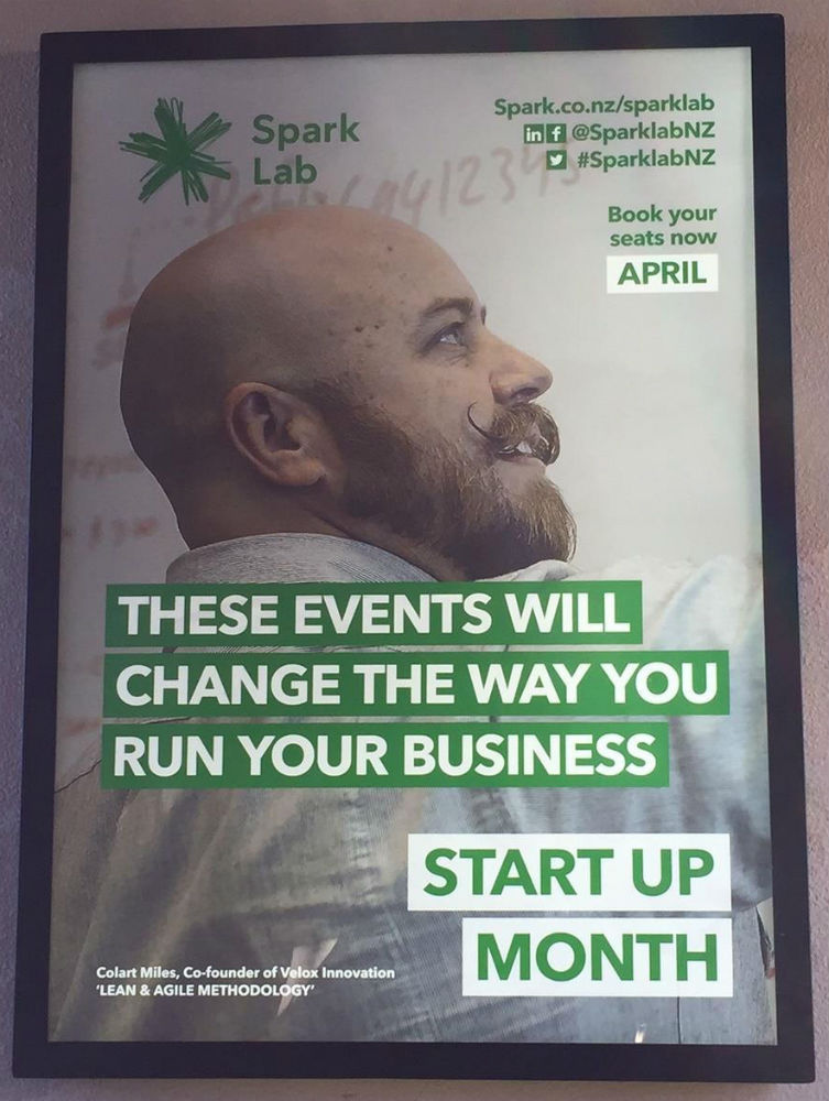 A poster spotted around Auckland