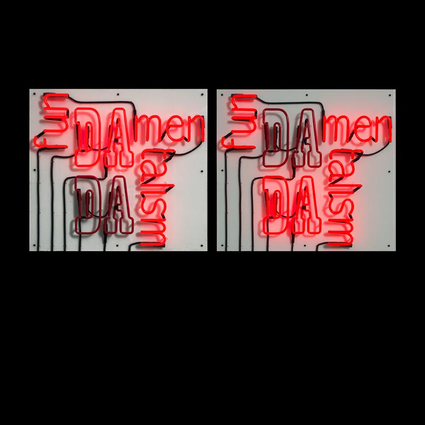 fun-DADA-men-talist , 2013,Flashing Neon