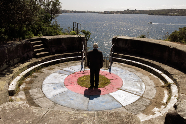 Soft Target: Middle Head Embattlement, Sydney, 2013, UV Inkjet Print, Photograph taken by Angela and Jane