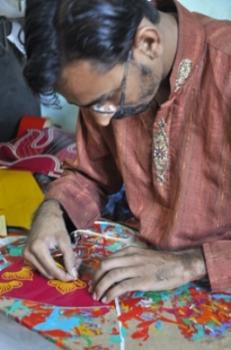Brut for Men Team: Chamak Patti and Sticker kariger