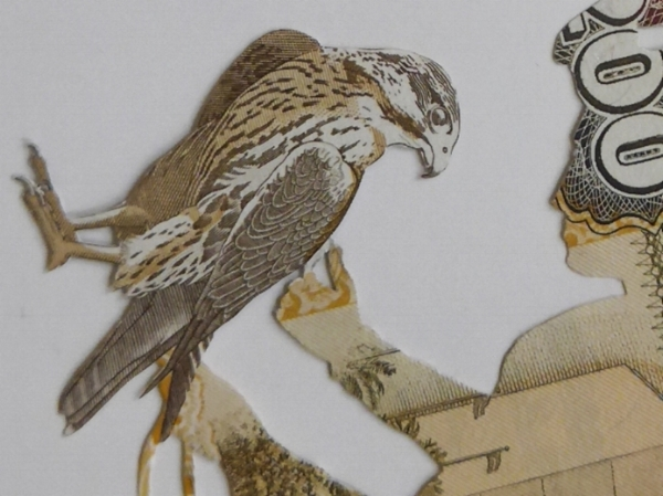 Courting Falcons IV (Assembly series) (2015) - detail